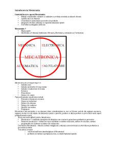 Mecatronica - Pagina 1