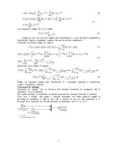 Discretizarea Sistemelor Continue - Pagina 4