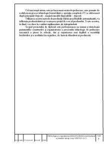 Diploma de Licenta - Tehnologia si Organizarea Fabricarii Flexibil Automatizate a Pieselor - Pagina 5