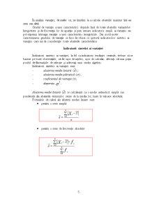 Indicatorii Variației - Pagina 5