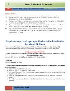 Bazele Activității Bancare - Pagina 2