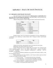 Proiectare Baze de date în Access - Pagina 3
