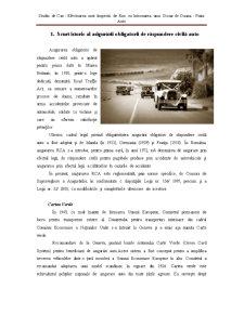 Studiu de Caz - Efectuarea unei Inspectii de Risc cu Intocmirea unui Dosar de Dauna - Piata Auto - Pagina 2