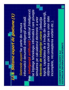 Componente Inteligente ale Sistemelor Informatice - Pagina 2