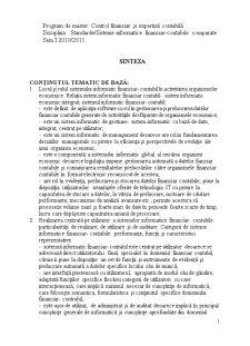 Sinteza Sisteme Informatice Contabile Comparate - Pagina 1