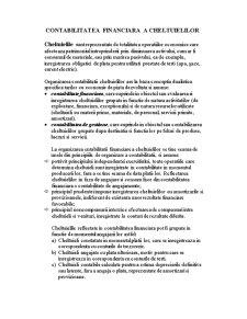 Contabilitatea Financiara a Cheltuielilor - Pagina 1