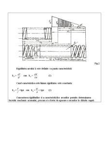 Determinarea Experimentala a Caracteristicii si a Rigiditatii Arcurilor Elicoidale - Pagina 3