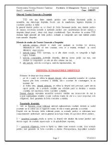 Obiectul Teoriei Generale a Dreptului - Pagina 1