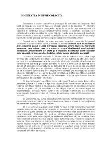 Societatea in Nume Colectiv, Societatea in Comandita Simpla, Societatea cu Raspundere Limitata - Pagina 1
