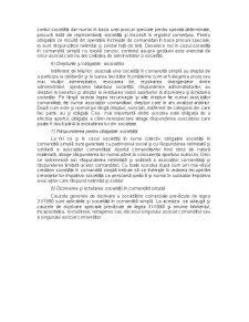 Societatea in Nume Colectiv, Societatea in Comandita Simpla, Societatea cu Raspundere Limitata - Pagina 4