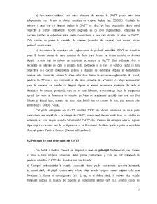 Rolul GATT în Reglementarea Comerțului Mondial - Pagina 5