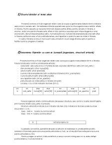 Algoritmi in Programare Despre Evidenta unei Biblioteci - Pagina 2