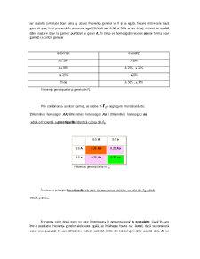 Elemente de Genetica Populațiilor - Pagina 2