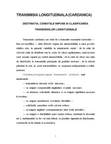 Transmisia Longitudinala - Cardanica - Pagina 3