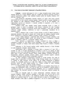 Definitia Obiectul Scopul si Importanta Lucrarilor de Cadastru - Aspectul si Functiile Cadastrului - Pagina 1