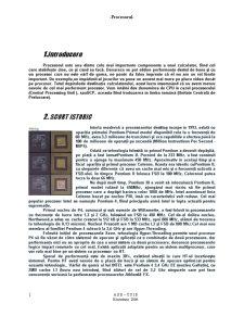 Procesorul - Pagina 1