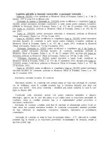 Legislatia Constructiilor si Amenajarii Teritoriului - Pagina 1