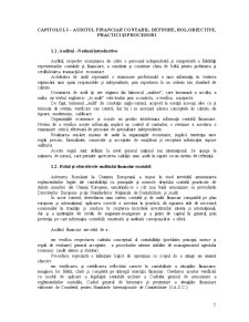 Audit Financiar Extern - Pagina 5