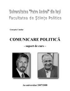 Comunicare Politică - Pagina 1