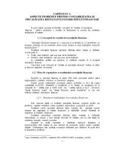 Aspecte Teoretice Privind Contabilitatea și Fiscalitatea Rezultatului Exercițiului Financiar - Pagina 3