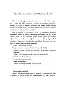 Dispozitivul de Normalizare a Contabilitații Întreprinderii - Pagina 1