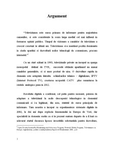 Televiziunea in Spatiul Public Romanesc - Pagina 3