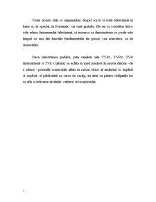 Televiziunea in Spatiul Public Romanesc - Pagina 5