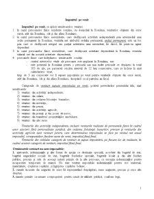 Impozitul pe Venit - Pagina 1