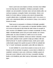 Formarea Subculturii la Tineri - Pagina 5