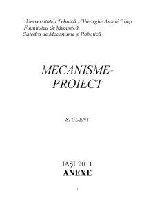 Mecanisme cu Bare Articulate - Pagina 1