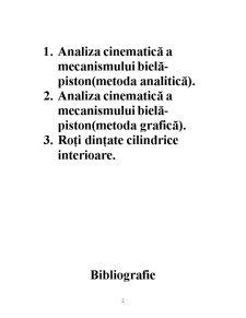 Mecanisme cu Bare Articulate - Pagina 2