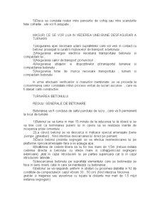Punerea în Lucrare a Betonului - Pagina 2