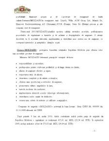 Calcularea Indicatorilor de Analiză a Activității Companiei de Asigurări Moldasig SA - Pagina 5
