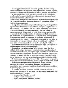 Concepte de Securitates si Protectie Sociala - Pagina 2