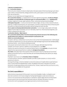 Economia si Legislatia Constructiilor - Pagina 1