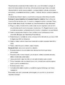 Istoria Ecologiei - Pagina 2