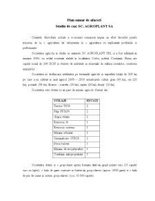 Plan de Afaceri Ferma Mixta - SC Agroplant SA - Pagina 2