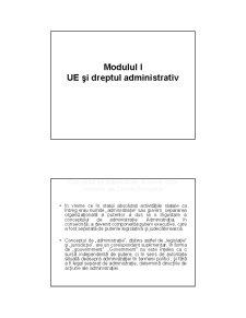 Structuri, Mecanisme si Institutii Administrative ale Uniunii Europene - Pagina 2