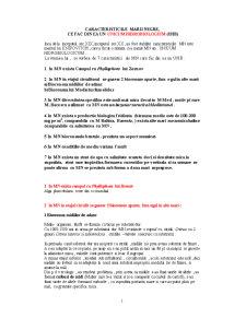 Caracteristicile Marii Negre - Ce Fac din Ea un Unicum Hidrobiologium - Pagina 1