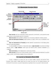 Curs Microsoft Word 2000 - Pagina 3