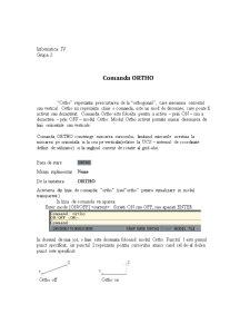 Proiect în AutoCad - Pagina 1