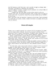 Proiect în AutoCad - Pagina 2