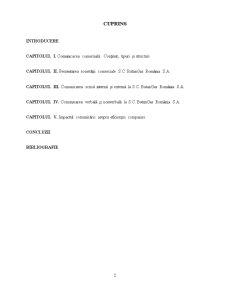 Comunicarea Comerciala la SC ButanGas Romania SA - Pagina 2
