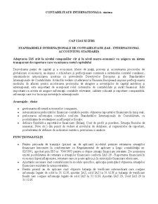 Contabilitate Internationala - Pagina 1