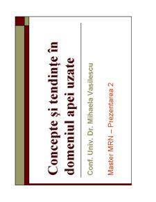 Managementul Resurselor de Apă de Suprafață - Pagina 1