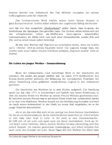 Die Leiden des Jungen Werthers în der Modernen Perspektive - Pagina 2