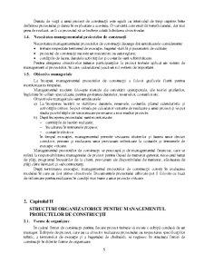 Managementul Proiectelor de Constructii – Definire Particularitati Necesitate Obiective Manageriale - Pagina 5