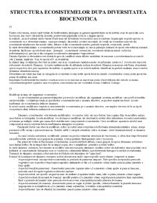 Structura Ecosistemelor - Pagina 1