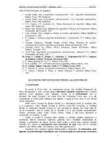 Algoritmi și Structuri de Date - Pagina 1