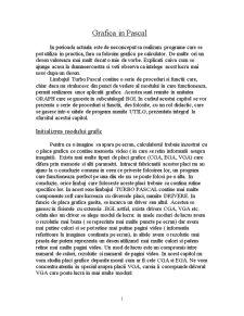 Grafica pe Calculator-Pascal - Pagina 1